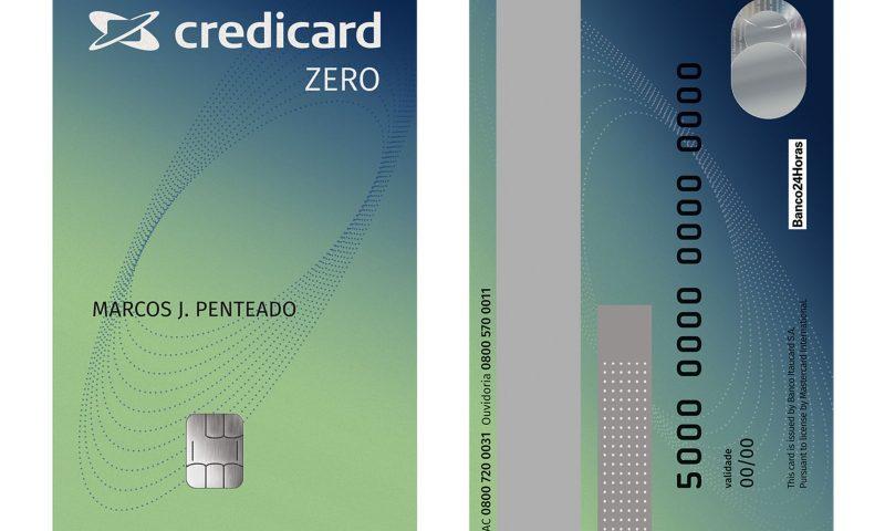 Cartão Credicard Zero - Sem Anuidade, Limite