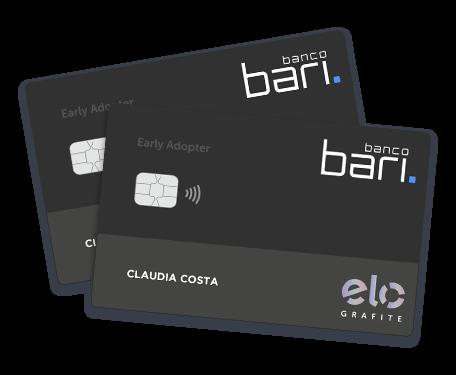 Cartão de Crédito Bari - Limite de R$ 1 milhão