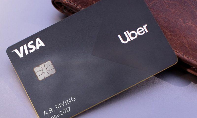Uber lança Conta Digital e Cartão de Crédito e Débito