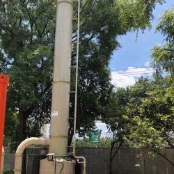 Controladores de odores são opções de alta tecnologia para estações de tratamento e indústrias