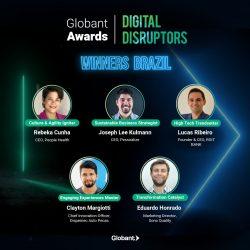Sono Quality é vencedora brasileira do Globant Awards Digital Disruptors 2021